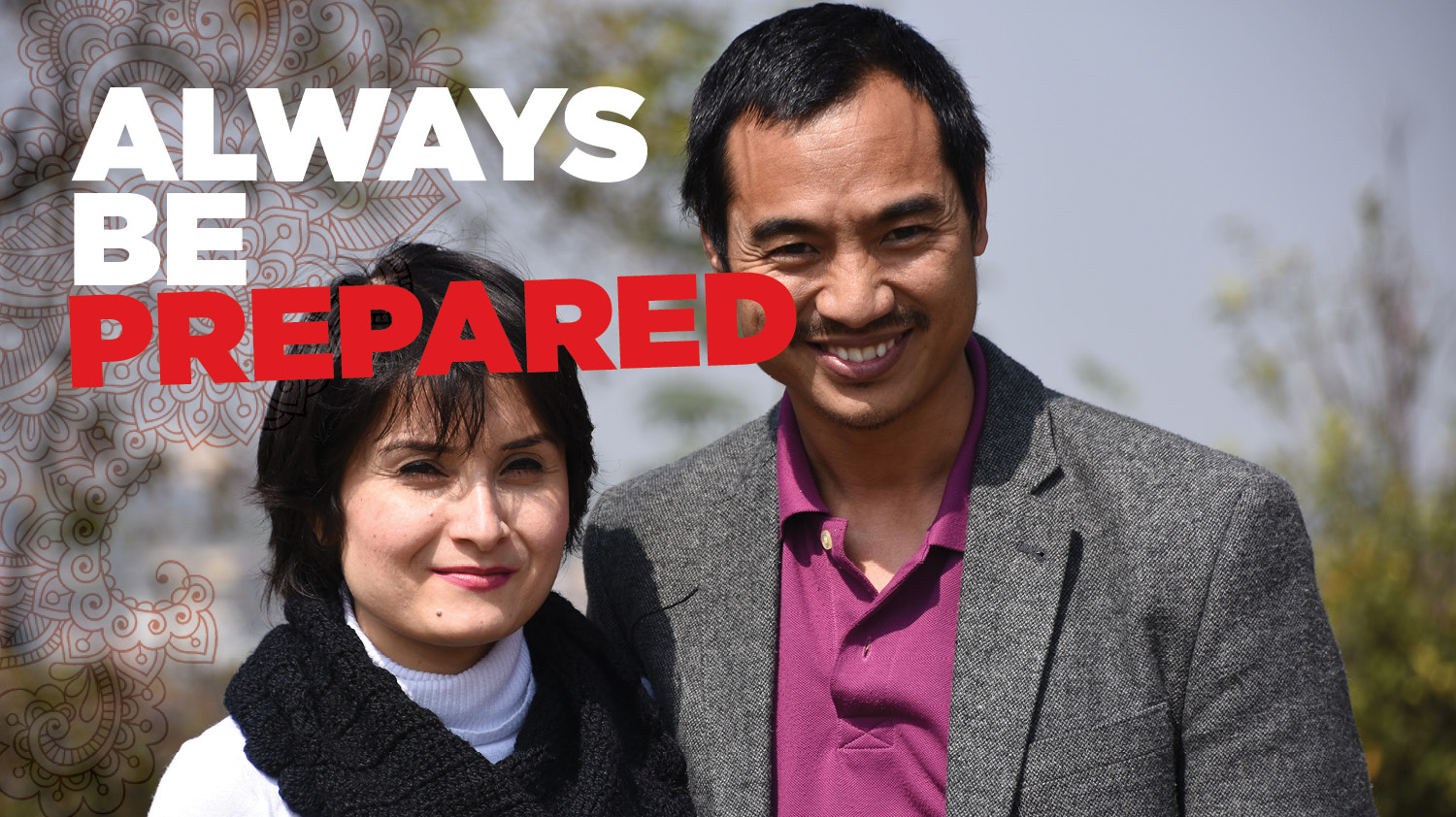 always be prepared sam and sharmila budhathoki thumnail