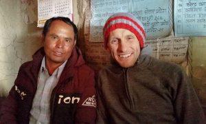 Community-health-and-development-work-in-Jumla-Jhol-Bahadur-Buddha-with-Phil-Morris-CEO-of-INF-Australia