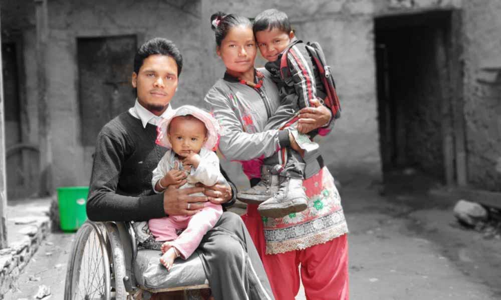 Surya Adhikari, Jumla, SCI patient