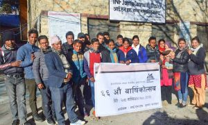INF day celebrated in Jumla