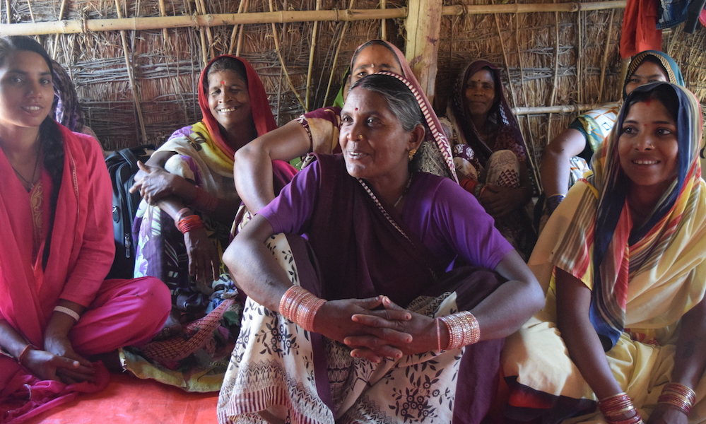 women in self-help group