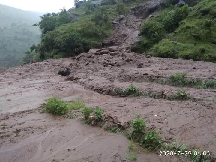 Landslides in Narharinath RM, Kalikot